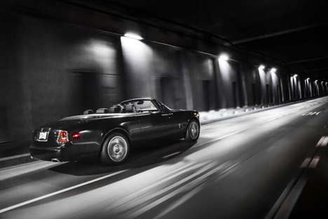 Stealthy Luxury Cars - The Rolls-Royce Phantom Drophead 'Nighthawk' is Inspired By Stealth Aircraft