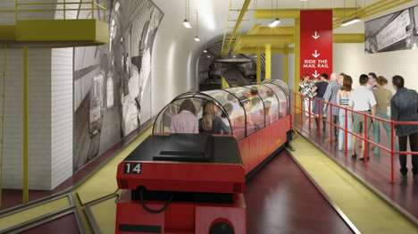 Snail Mail Train Rides - The Mail Rail Musem Will Let Passengers Retrace Mail Train Routes