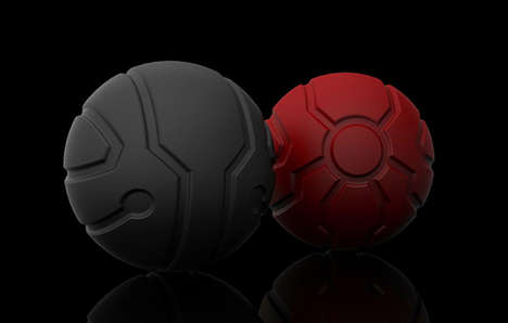 Rolling Stress Relievers - Weighted Stress Balls Refocus Rage to Some Basic Desktop Play