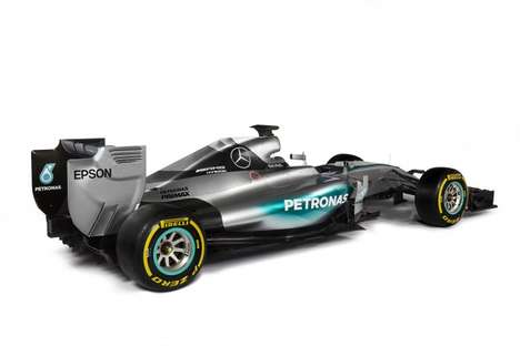 Silver Championship Racecars - The W06 Hybrid Silver Arrow is Designed For Gold, Not Silver