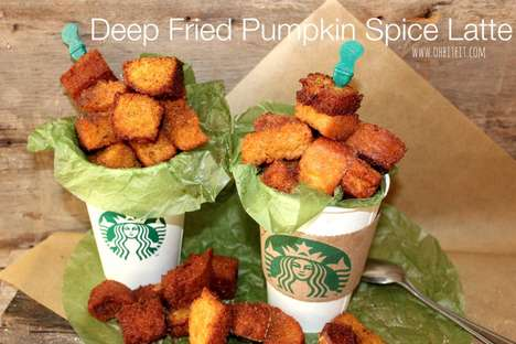 23 Unusual Latte Innovations - From Deep-Fried Pumpkin Drinks to Cookie Dough Coffees