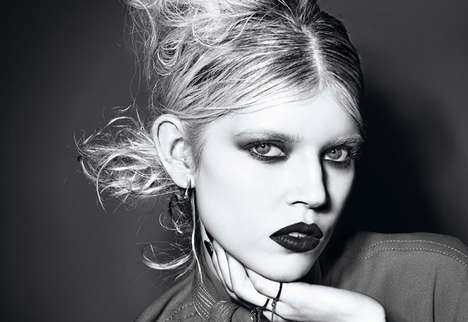 Alternative Rocker Beauty Tributes - Vogue Italia Beauty's Latest Issue is Inspired by Courtney Love