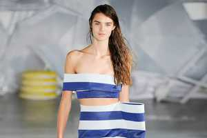 The Latest Jacquemus Collection Boasts Striped Fashion Staples