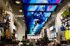 LCD Ceiling Displays