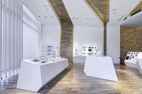 Minimalist Retail Designs - The Legrand Showroom Boasts Both Exhibition and Seminar Spaces