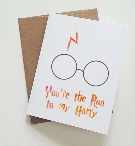 Magical Mate Greetings - You Can Give This Harry Potter Card to Your Best Friend on Valentine's Day