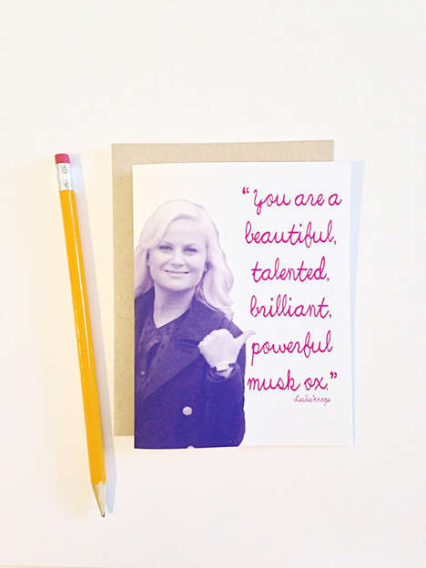 Bestie-Celebrating Greeting Cards - This Best Friend Valentine is Perfect for Parks and Rec Fans