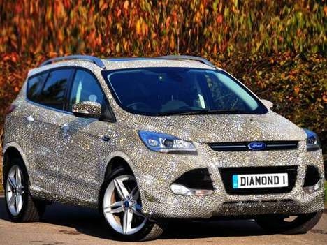 Extreme Bejeweled SUVs - The $1.5 Million Swarovski Kuga Takes Luxury Options to the Next Level