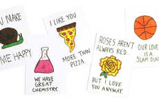 Intentionally Bad Valentines - These Crudely Drawn Love Letters Show You Care in an Unartistic Way