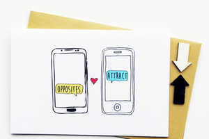 These Modern Valentine's Cards are for Modern Couples