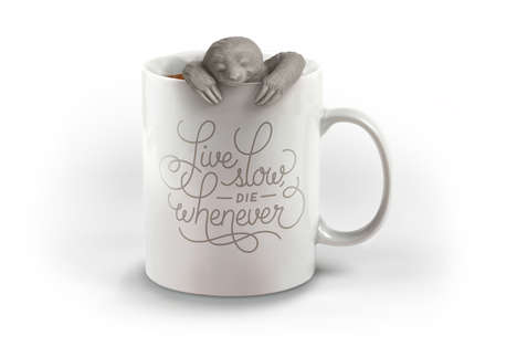 Sloth Tea Steepers - This Tea Accessory Helps You Slow Down and Enjoy Yourself with Some Down Time