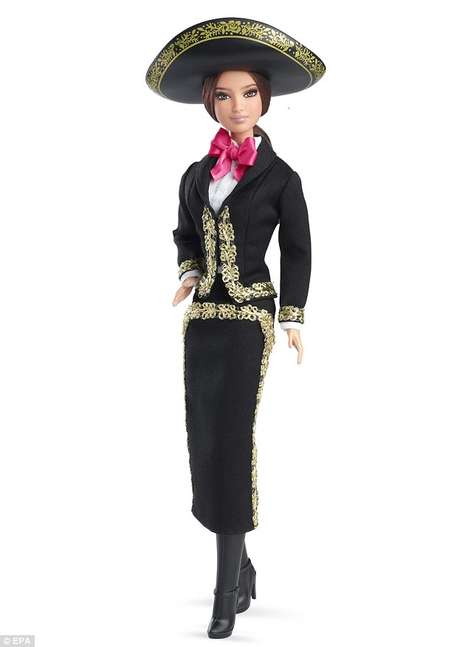 Mexican Barbie Editions - Mattel Releases Cultural Look Based on a Mariachi Band Outfit