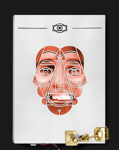 Facial Recognition Books - This High-Tech Book Cover Scans Your Face to Unlock Its Contents