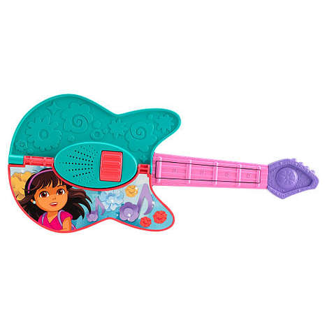 Explorer Rockstar Toys - This Fisher-Price Dora and Friends Guitar Will Appeal to Cartoon Fans