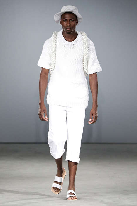 Understated Nautical Fashion - Lukhanyo Mdingi's Latest Collection Boasts Effortlessly Cool Staples