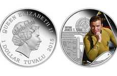 Tuvalu Star Trek Coins Pay Homage to the Original 60s Series