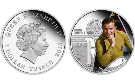 Trekkie Legal Tender - Tuvalu Star Trek Coins Pay Homage to the Original 60s Series