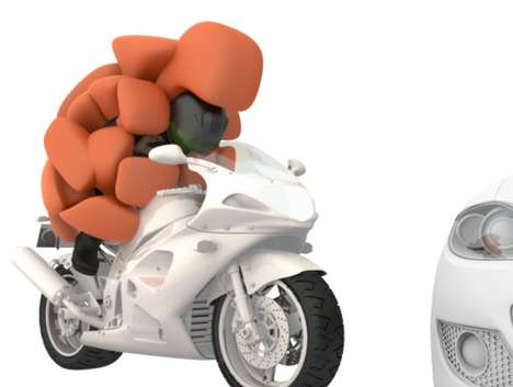 Hedgehog-Inspired Airbags - The i Gel Full-Body Airbag Acts As a Personal Protective Coccoon