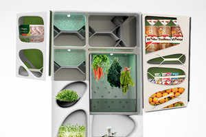 This Organic Refrigerator Integrates Compartments for Growing Your Own Food