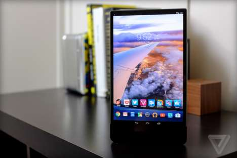 Classy Android Tablets - The Dell Venue 8 7000 is Efficiently Designed and Well Assembled