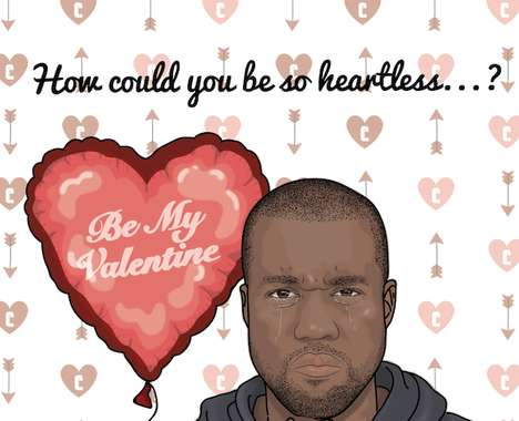 Rapper-Referencing Valentine Cards