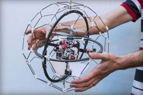 Bouncy Ball Drones - GimBall by Flyability Conducts Search and Rescue in a Safe Way