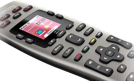 Streamlined Universal Remotes - The Logitech Harmony 650 Conveniently Coordinates Five Devices