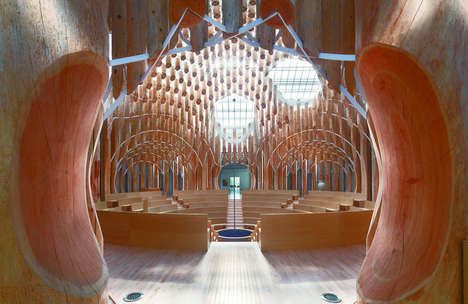 Captivating Contemporary Churches - The Light of Life Chapel is an Epic Tribute to Modern Design