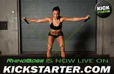 Virtual Workout Systems - The RhinoBoss Virtual is a Versatile At-Home Workout