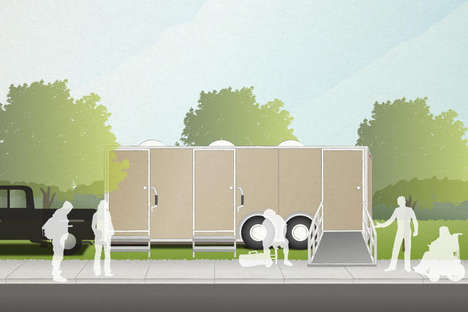Homeless Laundry Trailers - Non-Profit Project WeHOPE is Crowdfunding Their Mobile Shower Facilities