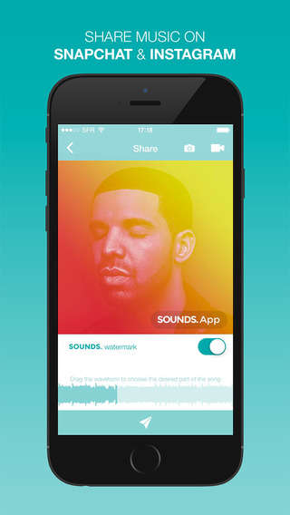 Social Music Apps - The Sounds App Optimizes Visual Social Media Platforms for Audio