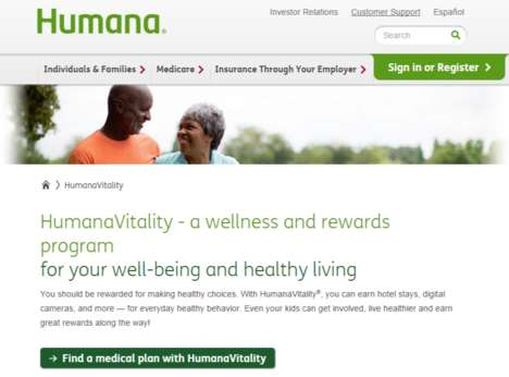 Wellness Rewards Programs - HumanaVitality Provides Incentives for Staying Healthy and Active