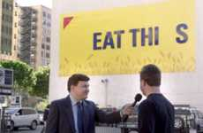 Car-Smashing Billboards - Wheat Thins' Snack Food Marketing Stunt Makes You Look