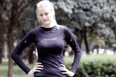 Motion Capture Sportswear - The Tracky Apparel Uses Motion Sensors to Assess Your Performance