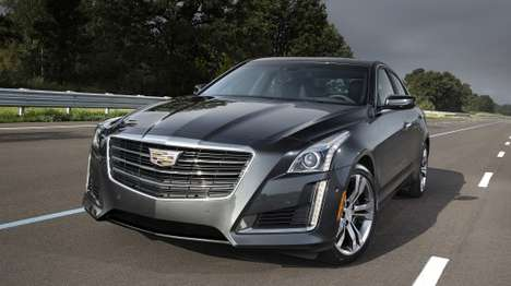 V2V-Enabled Smart Cars - GM Unveils the Intuitive and Futuristic Design of the New Cadillac