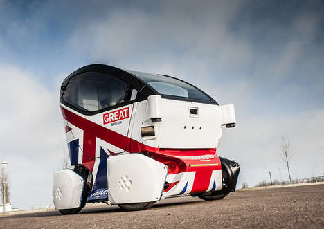 Compact Driverless Cars - This Autonomous Smart Car Paves the Way for Safe Vehicular Transportation