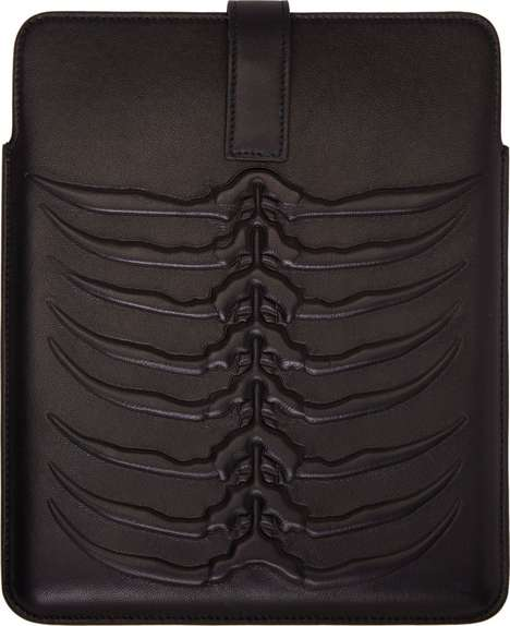 Skeletal Tech Accessories - This Alexander McQueen iPad Case is Inspired by the Human Rib Cage
