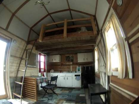Converted Tiny Homes - This Tiny Home is Actually a Converted Storehouse