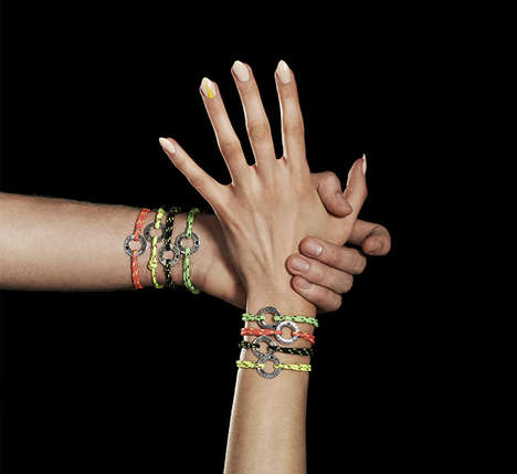 HIV-Fighting Accessory Collections - ALDO Fights Aids Introduces Charitable Bracelets With VFILES