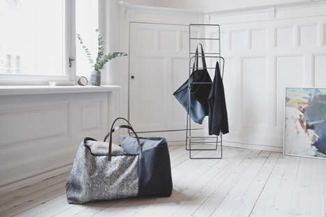 Designer Furniture Bags - The Herman Cph IKEA Tote is a Luxurious Take on the Classic