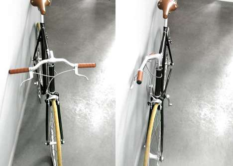 Handlebar-Flipping Bicycle Attachments - FlipCrown Makes It Easier to Cram Your Bicycle Anywhere