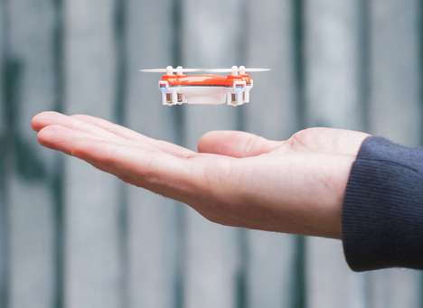 Tiny Drone Toys - SKEYE Nano Drone Buzzes Like an Electronic Insect, Navigating Nooks and Crannies