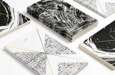 Topographic Stationary Collections - Julia Kostreva's Golden Year Collection is Inspired by Nature