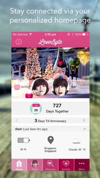 Couple Communication Apps - The LoveByte Communication App Chronicles Special Moments