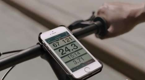 Health-Centric Smartphone Ads - These Apple iPhone Ad Promotes Health-Tracking Applications