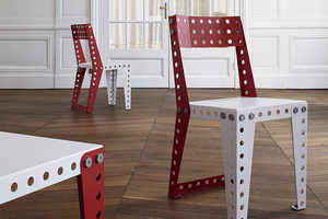 The Meccano Home Furniture Line is for the Young at Heart
