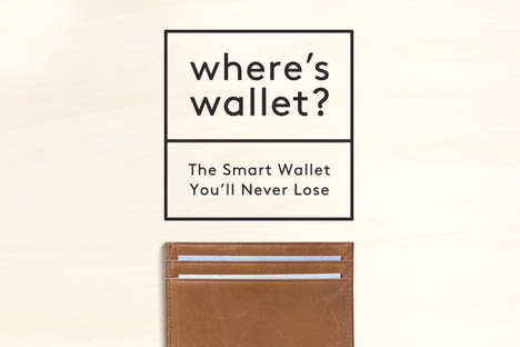 Minimalist Smart Wallets - The Where's Wallet Is Easy to Find When Lost