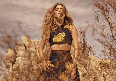 Prancing Lioness Editorials - The Doutzen Kroes for Vogue Netherlands Issue Resembles the Lion King