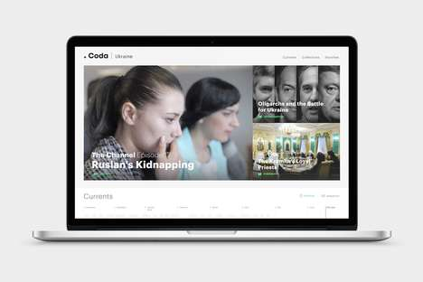 Experimental News Platforms - Coda is Designed to Track Long-Term Crises