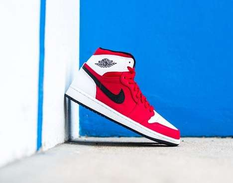 Iconic Retro Footwear - The Air Jordan 1 Retro High 'Blake Griffin' Sneaker Celebrates the Baller